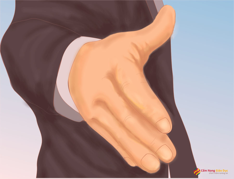 Bắt tay đúng cách là luôn chủ động nhưng không được hấp tấp, vội vàng