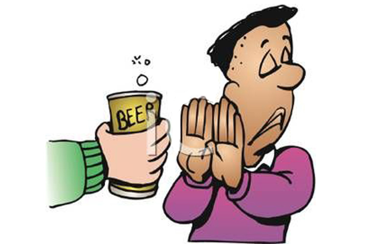 Từ chối uống rượu không phải việc dễ làm