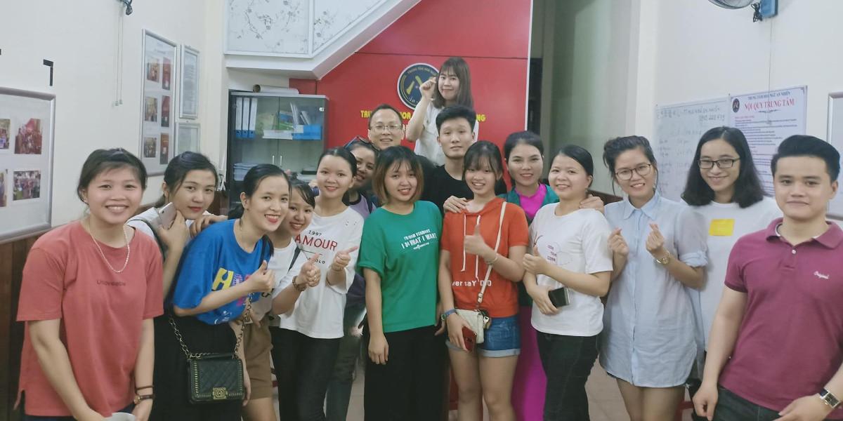 Học viên tại Trung tâm Tiếng Trung An Nhiên Đà Nẵng.