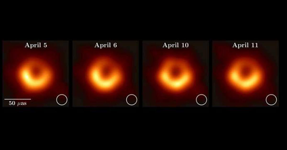Hình ảnh lỗ đen vũ trụ đầu tiên