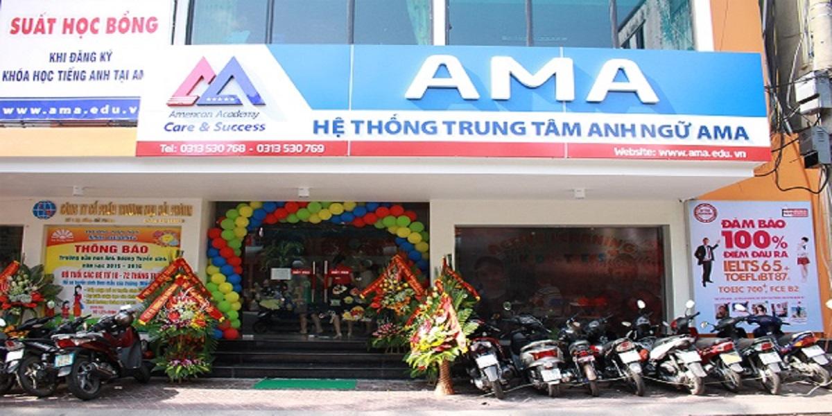 Trung tâm tiếng Anh Ama tại Hải Phòng.