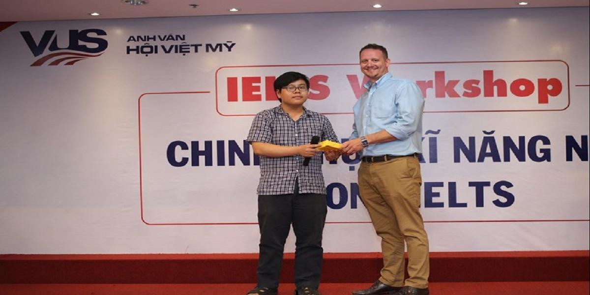 Hội thảo chinh phục kỹ năng nói trong Ielts tại trung tâm tiếng Anh Việt Mỹ