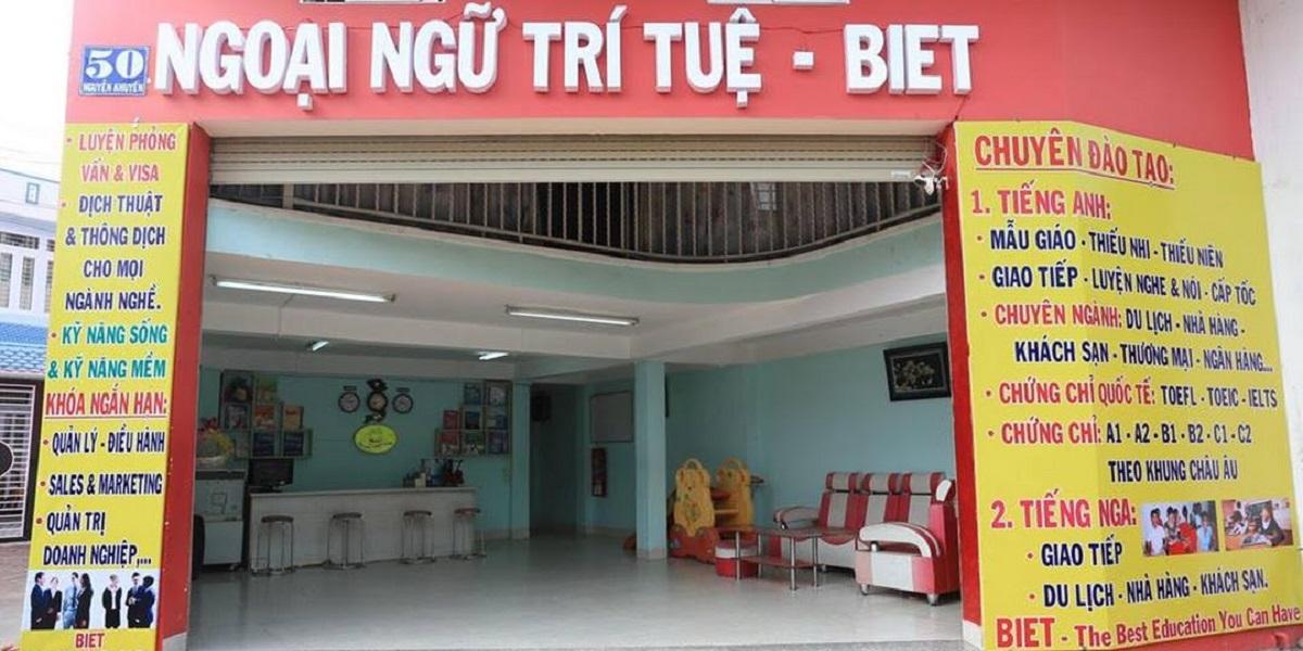 Trung tâm Ngoại ngữ Trí Tuệ - BIET.