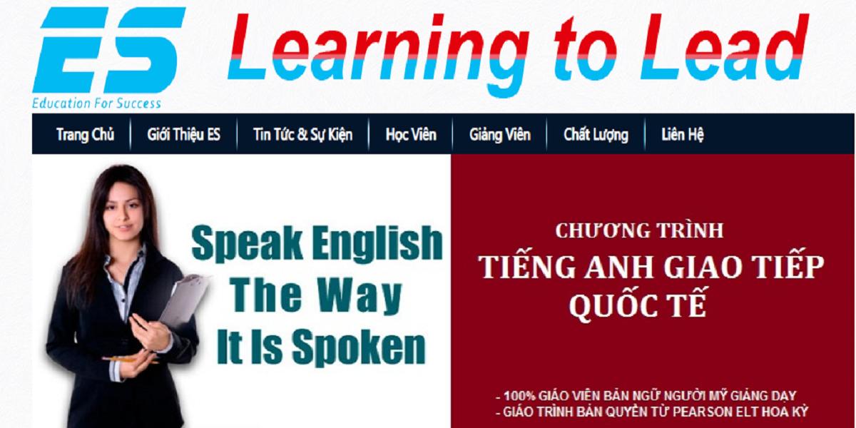 Trung tâm ES Language Center - Đáp ứng mọi nhu cầu tiếng Anh cho học viên.