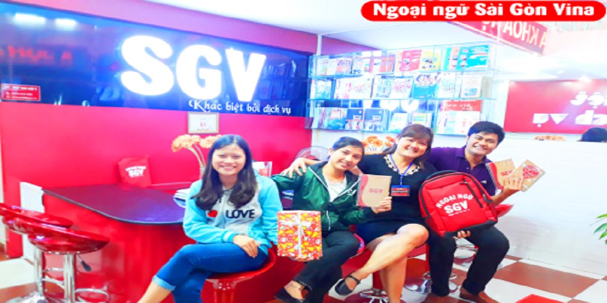 Sài Gòn Vina - Đào tạo ngoại ngữ cả trẻ em lẫn người lớn.