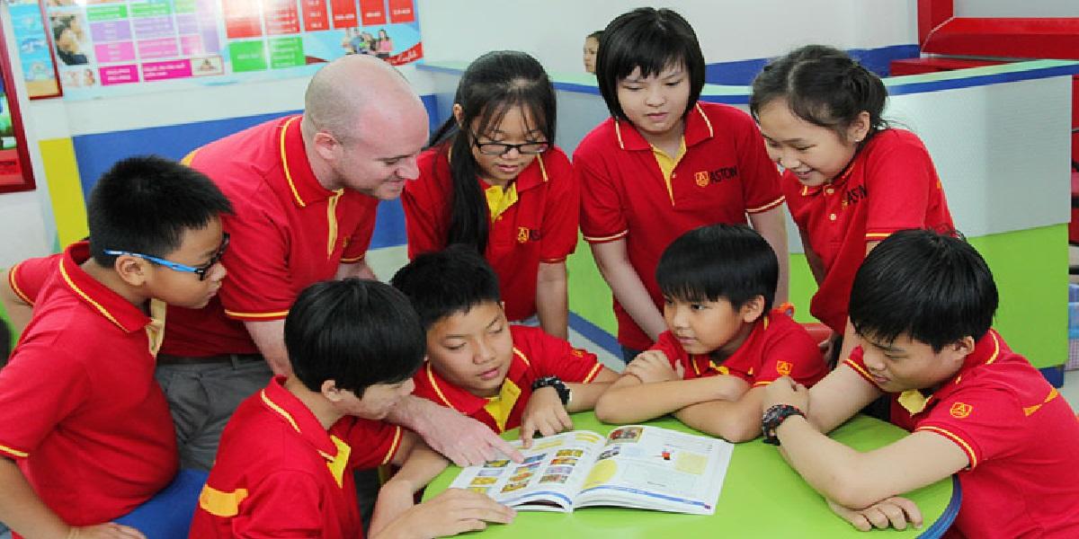 Học viên tại trung tâm anh ngữ Quốc tế Sài Gòn ASTON.