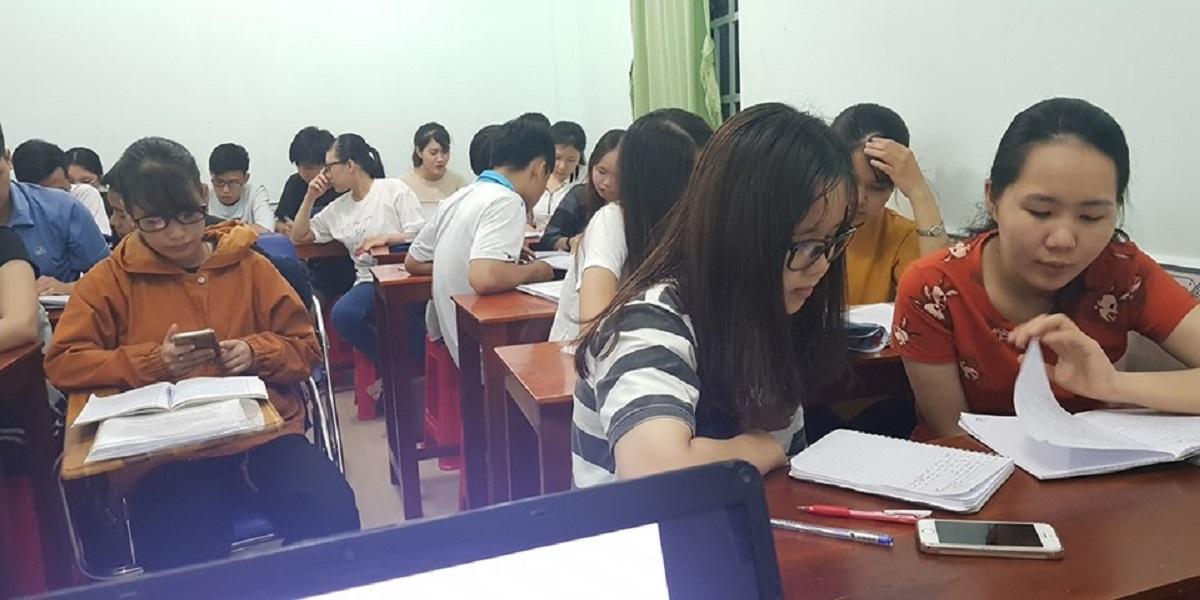 Lớp học tại trung tâm anh ngữ Future Cần Thơ.