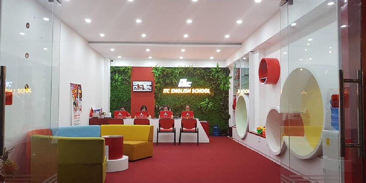 Văn phòng tại trung tâm anh ngữ quốc tế ITC Huế.