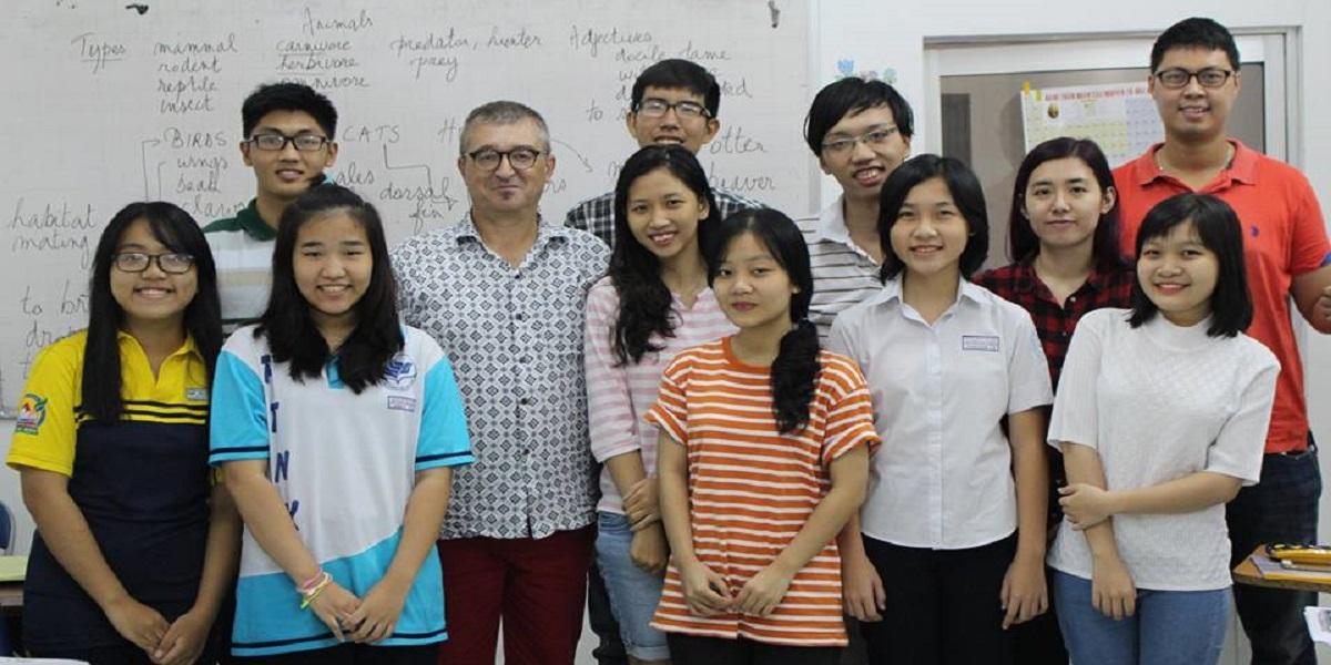 Học viên tại trung tâm Ngoại Ngữ ILI.
