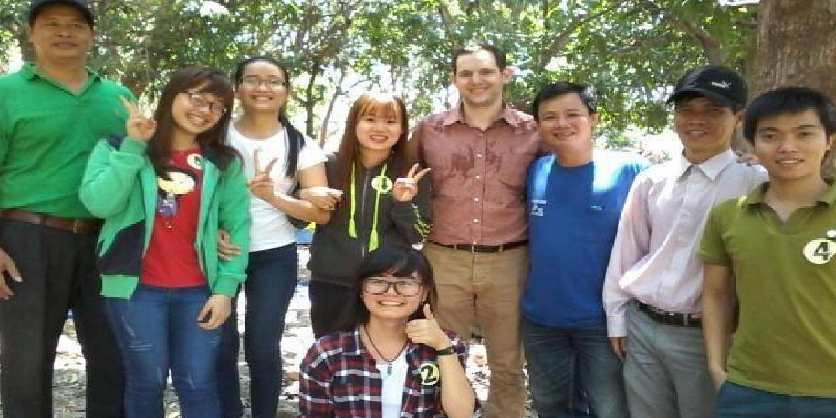 Học viên tại trung tâm ngoại ngữ Bắc Âu.