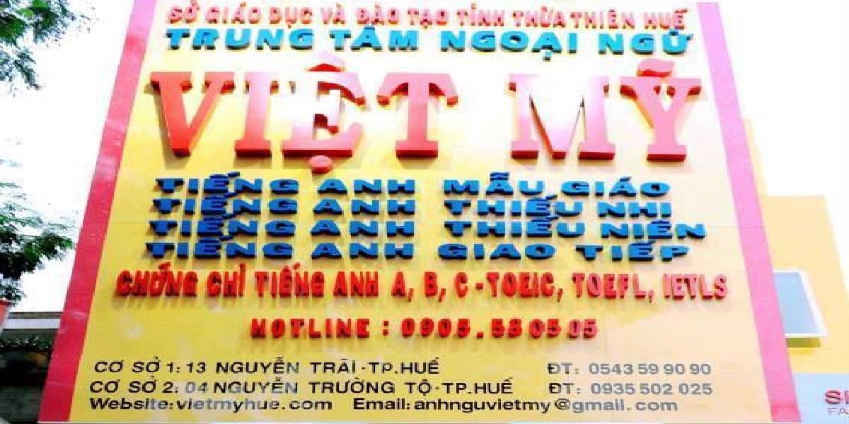 Trung tâm anh ngữ Việt Mỹ.