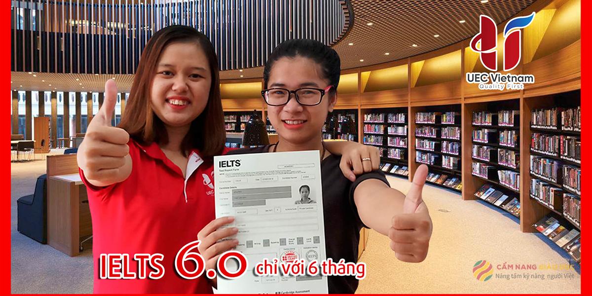 UEC và khóa học tiếng Anh IELTS cho người mất gốc tại Đà Nẵng