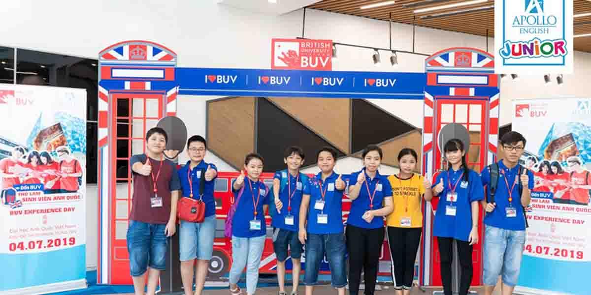 Apollo - trung tâm tiếng Anh giao tiếp cho trẻ từ 3 đến 14 tuổi nổi tiếng