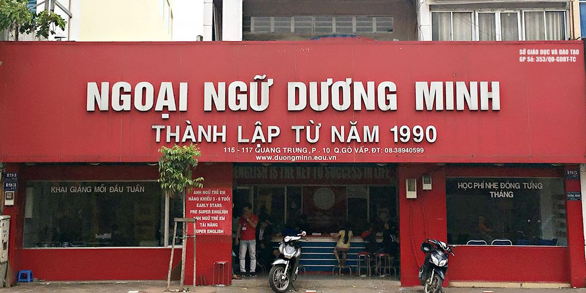 Ngoại ngữ Dương Minh - trung tâm tiếng Anh lâu đời tại TPHCM