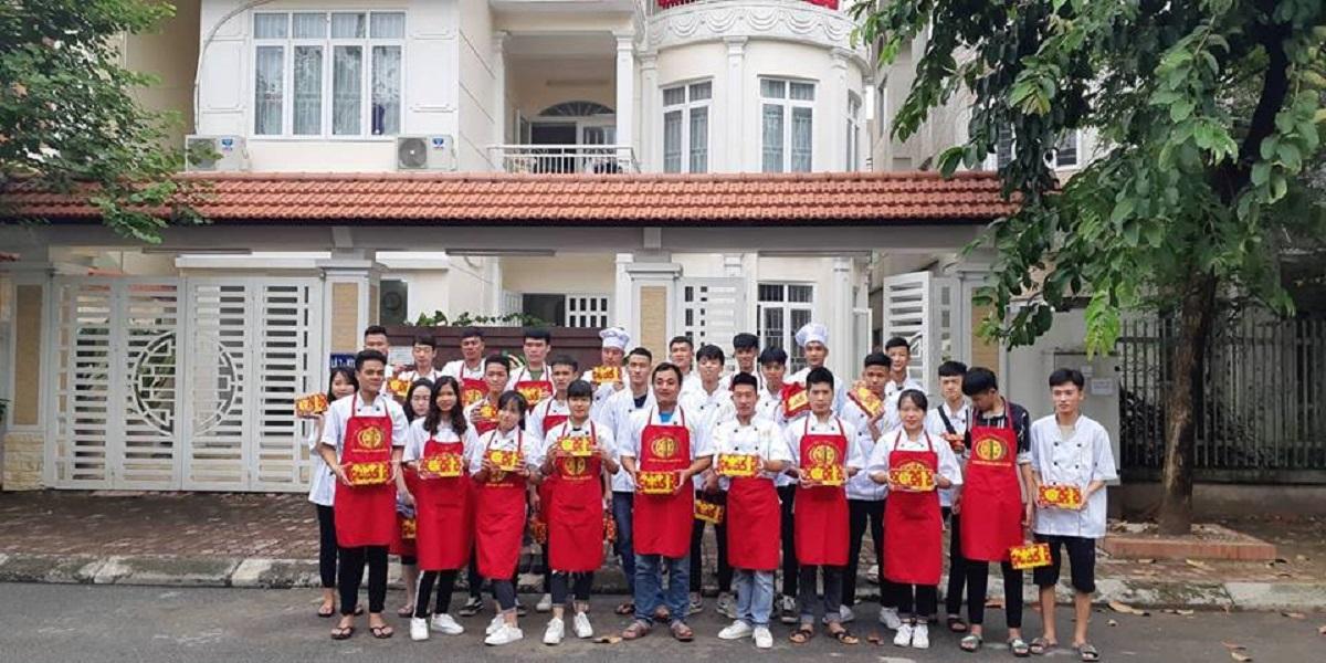 Học viên tại trường cao đẳng Văn Lang Hà Nội.