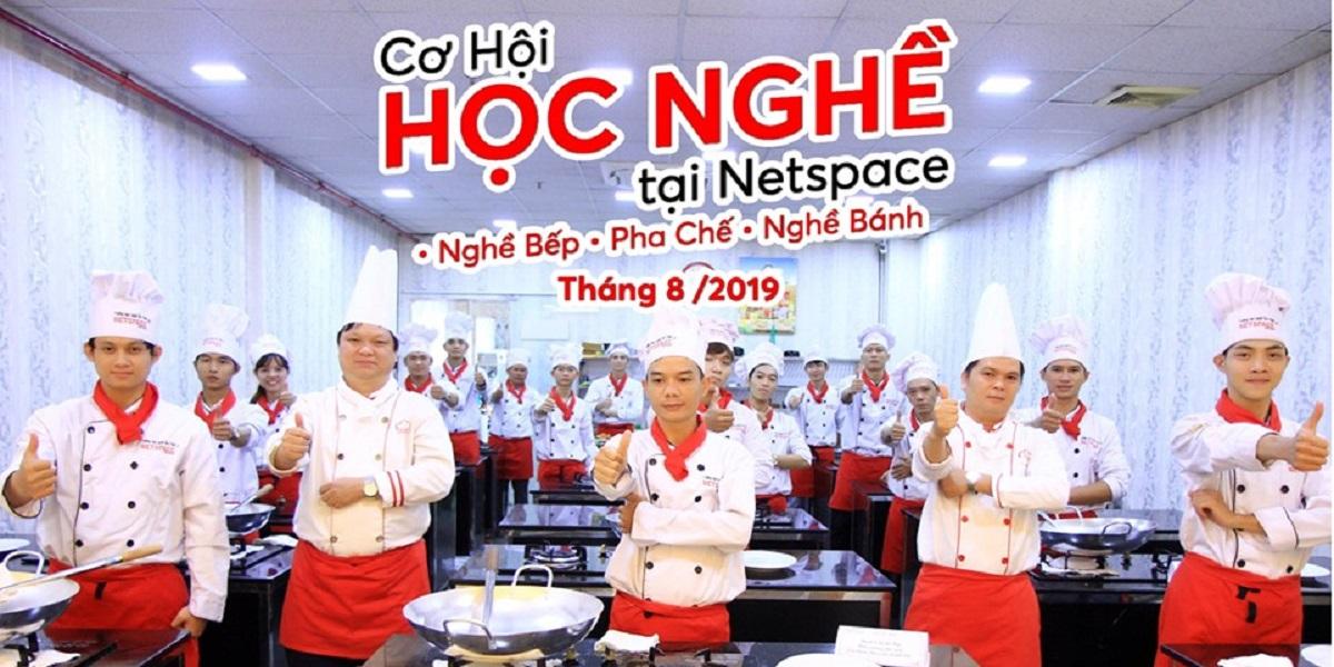 Học nghề ẩm thực tại Netspace.