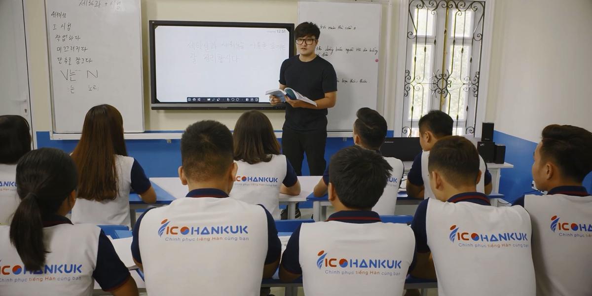 Trung tâm tiếng Hàn Ico Hà Nội với hệ thống cơ sở trải khắp trên cả nước