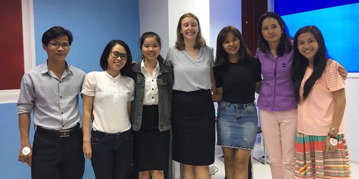 Trung tâm Úc Châu và khóa học tiếng Anh cho người mất gốc tại Nha Trang tập trung vào phát âm