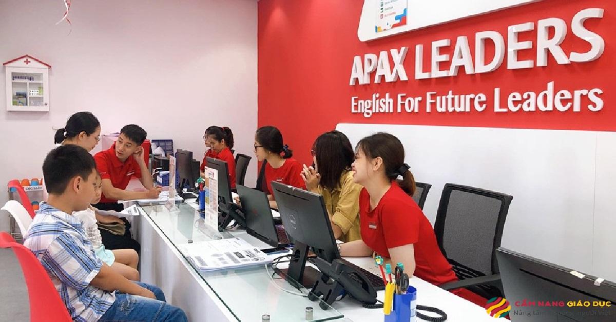 Khung cảnh tại trung tâm tiếng Anh trẻ em Apax.