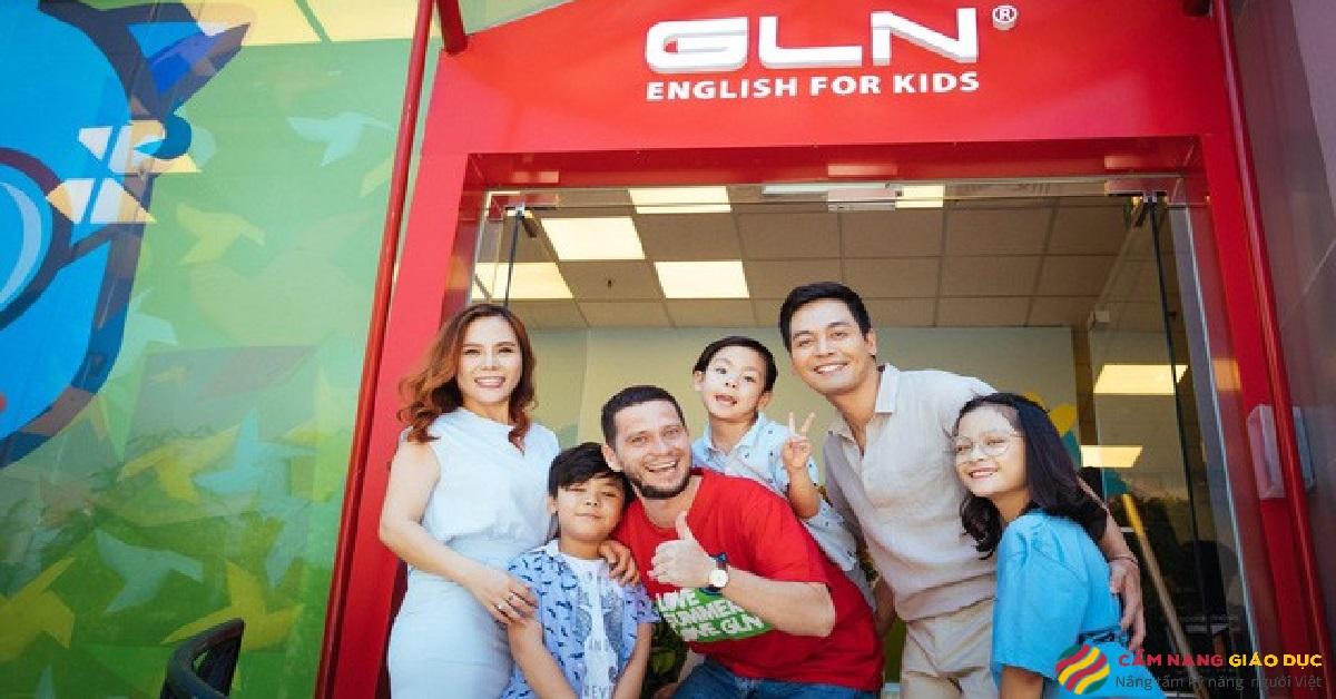 Học viên tại trung tâm tiếng Anh GLN.