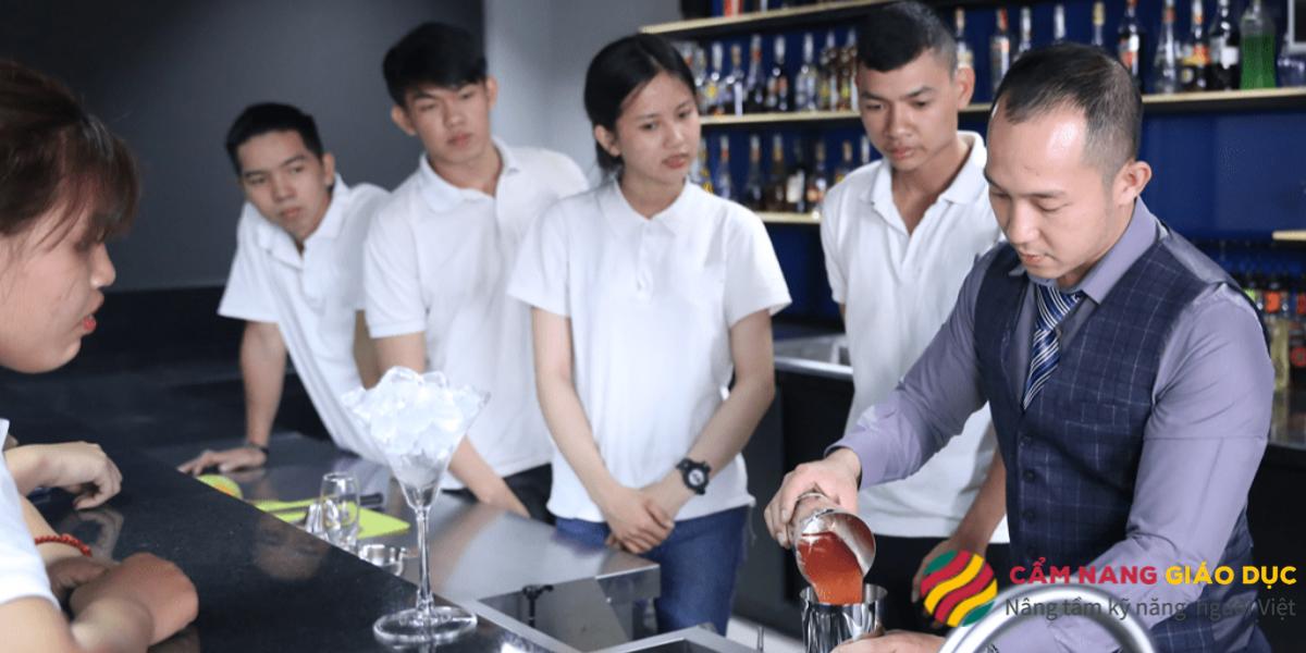 Học pha chế tại Việt Úc