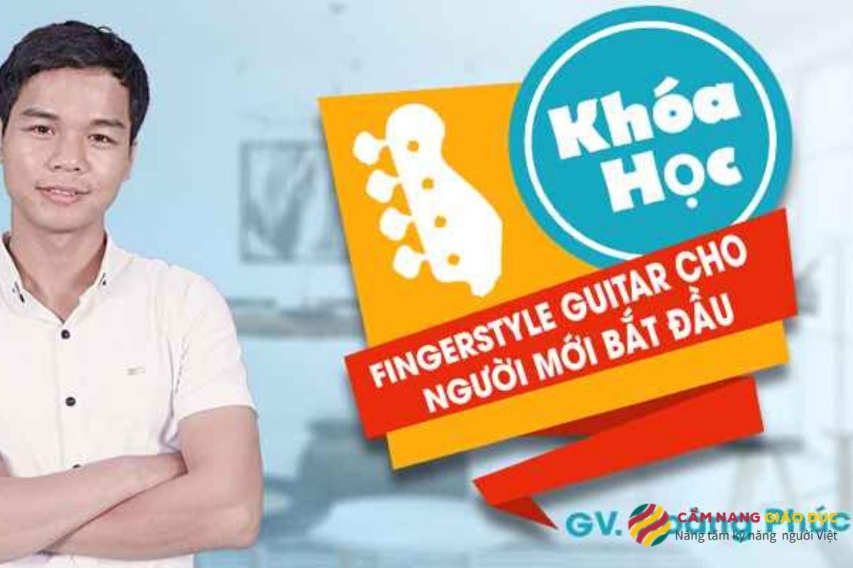 Khóa học Fingerstyle guitar online dành cho người mới bắt đầu