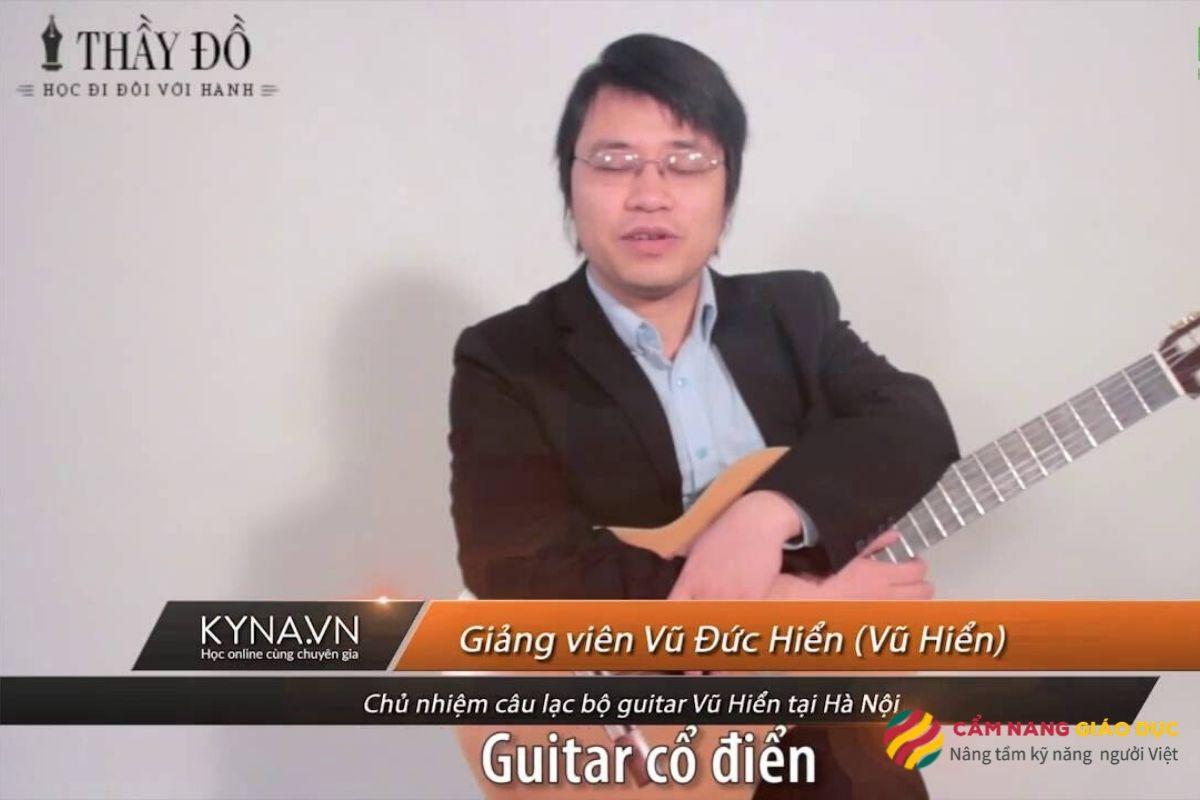 Khóa học guitar cổ điển nâng cao cho học viên biết chơi guitar muốn nâng cao kỹ năng