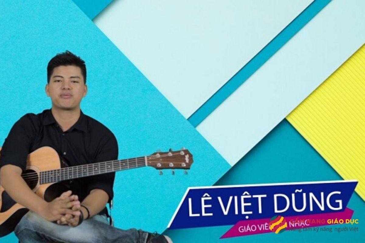 Khóa học kỹ năng guitar online - Lê Việt Dũng