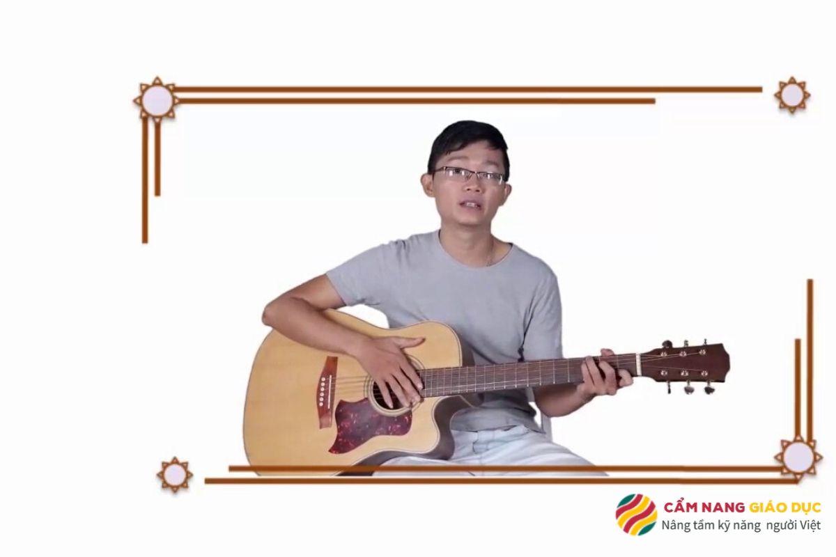 Khóa học guitar đệm hát online dành cho người mới bắt đầu