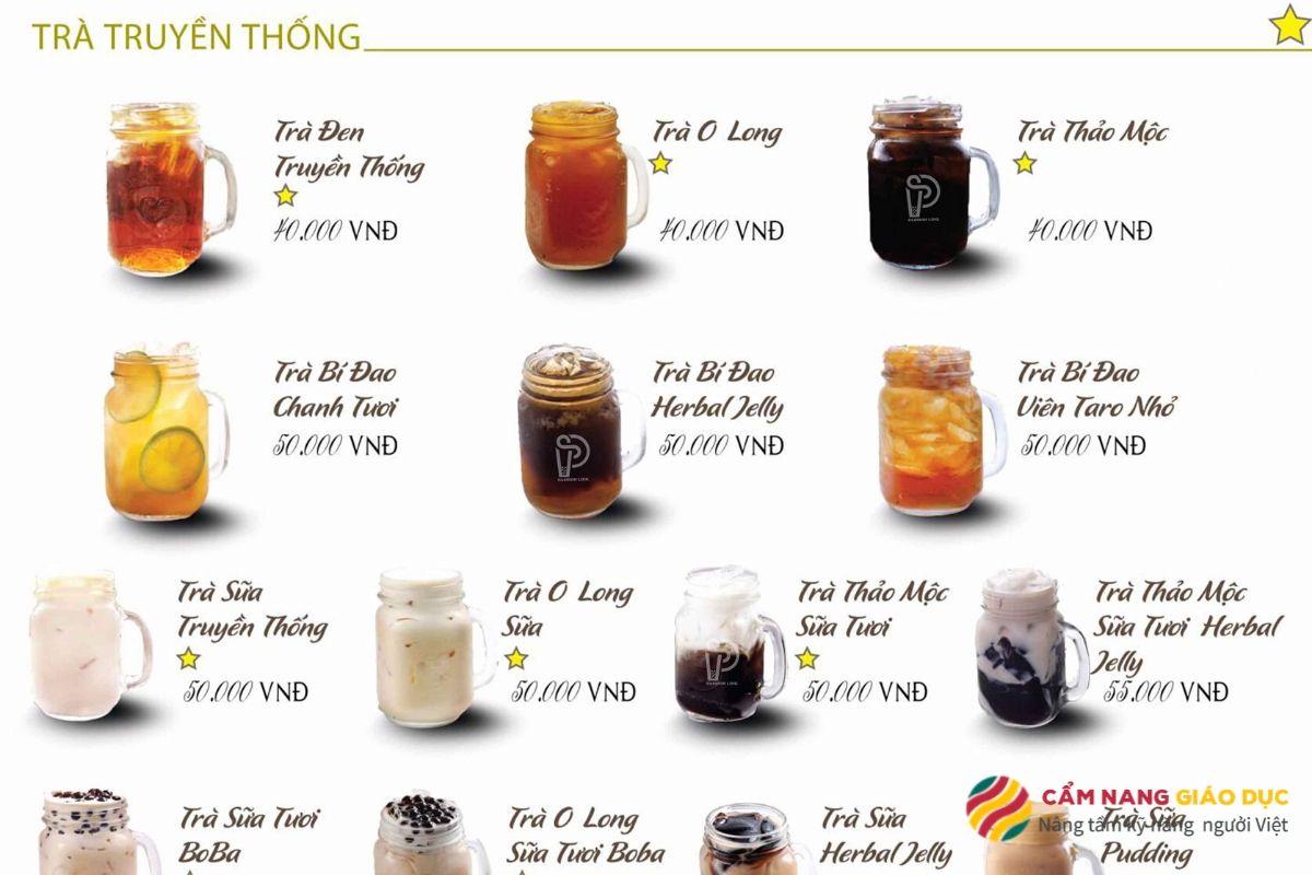 Khóa học pha chế online: Pha chế trà sữa, trà trái cây.