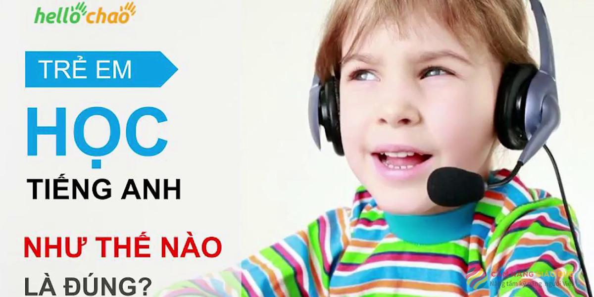 Khóa học online luyện phát âm như trẻ em bản xứ của Hellochao
