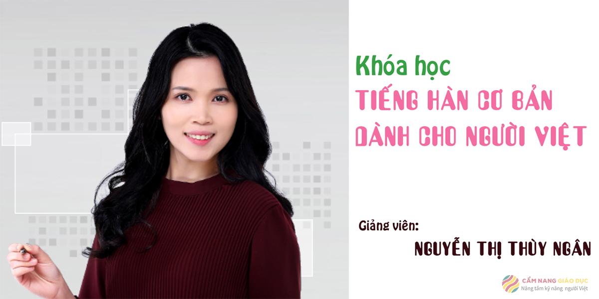 Khóa chinh phục từ vựng tiếng Hàn online của Kyna