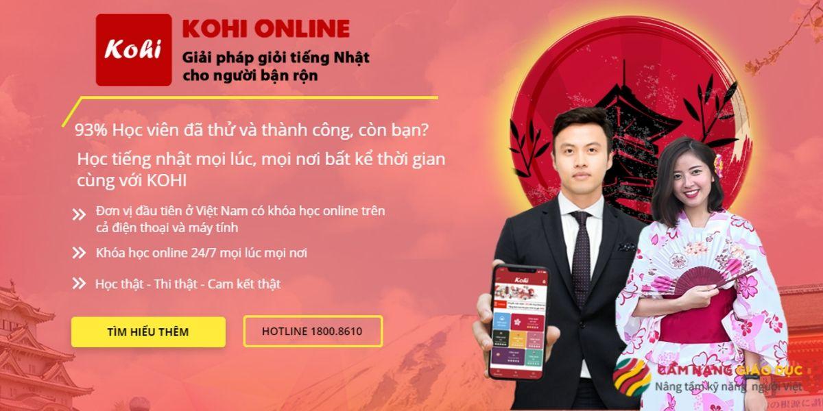 Khóa học tiếng Nhật online cho người bận rộn