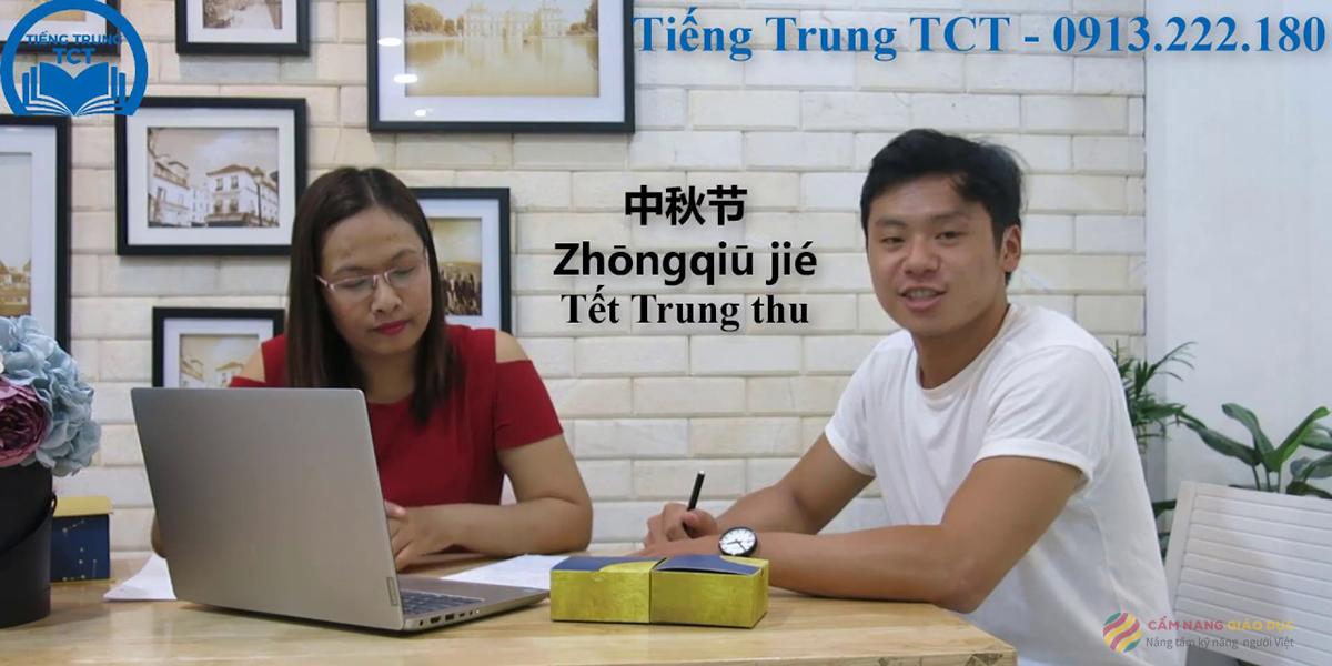 Khóa học tiếng Trung online với giảng viên người Trung Quốc tại trung tâm TCT