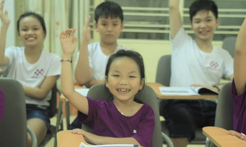 WISE ENGLISHxây dựng một môi trường học tập thân thiện, vui nhộn