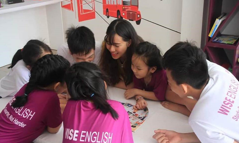 WISE English là một trong những trung tâm tiếng anh cho trẻ em ở Đà Nẵng có phương pháp học hiệu quả nhất