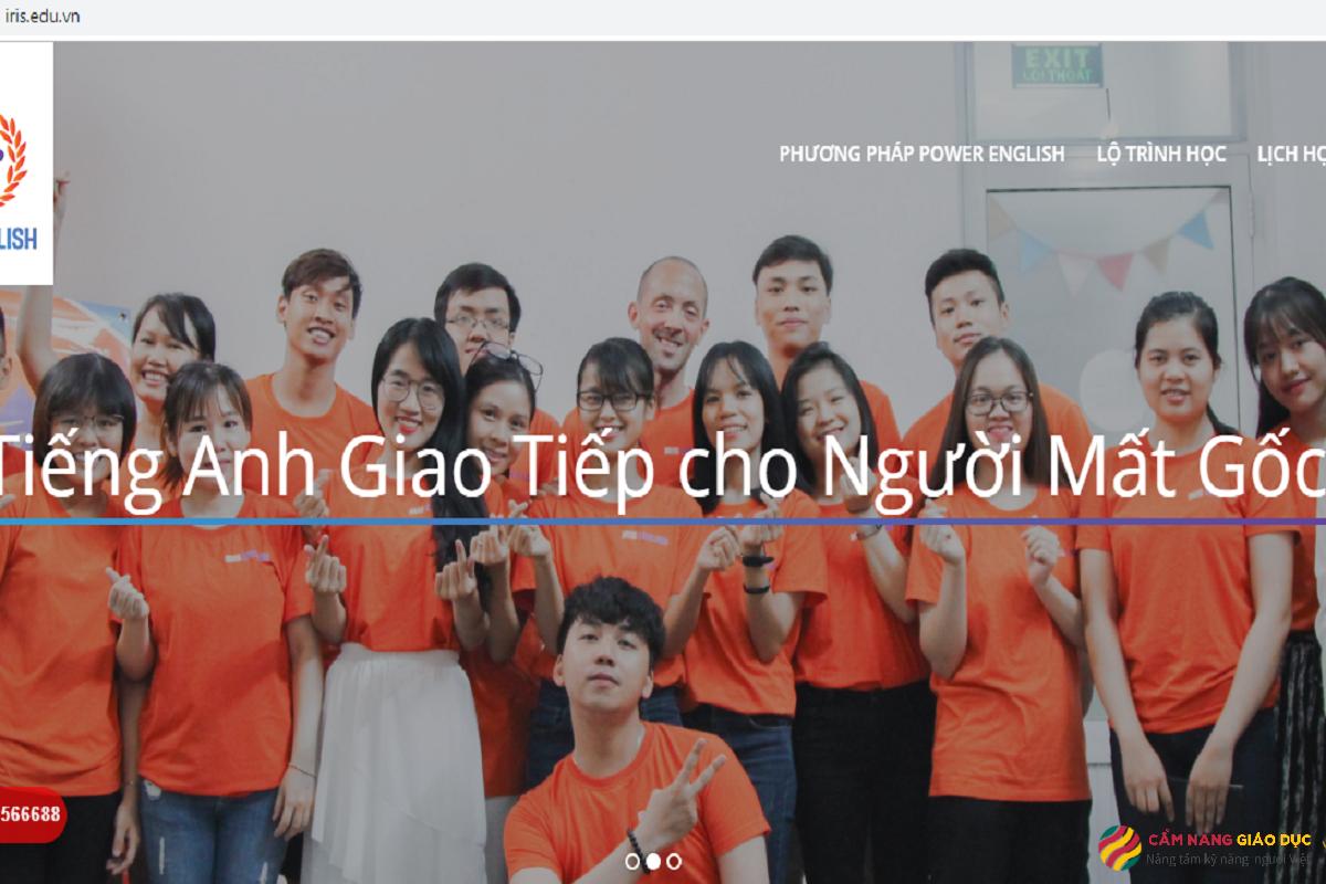 Trung tâm tiếng Anh Đà Nẵng Iris giúp học viên học tiếng Anh qua trải nghiệm thật.