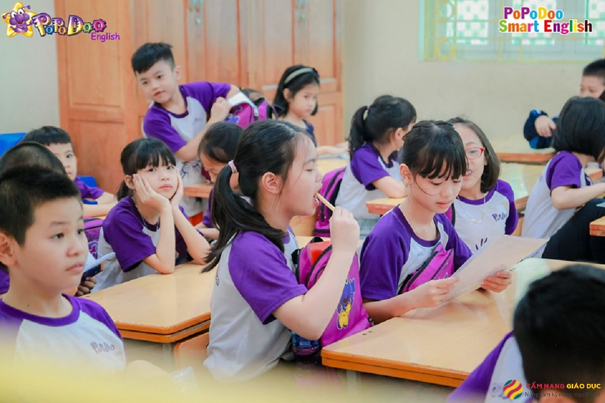 Trung tâm tiếng Anh Đà Nẵng Popodoo - 100% giảng dạy theo tiêu chuẩn quốc tế.