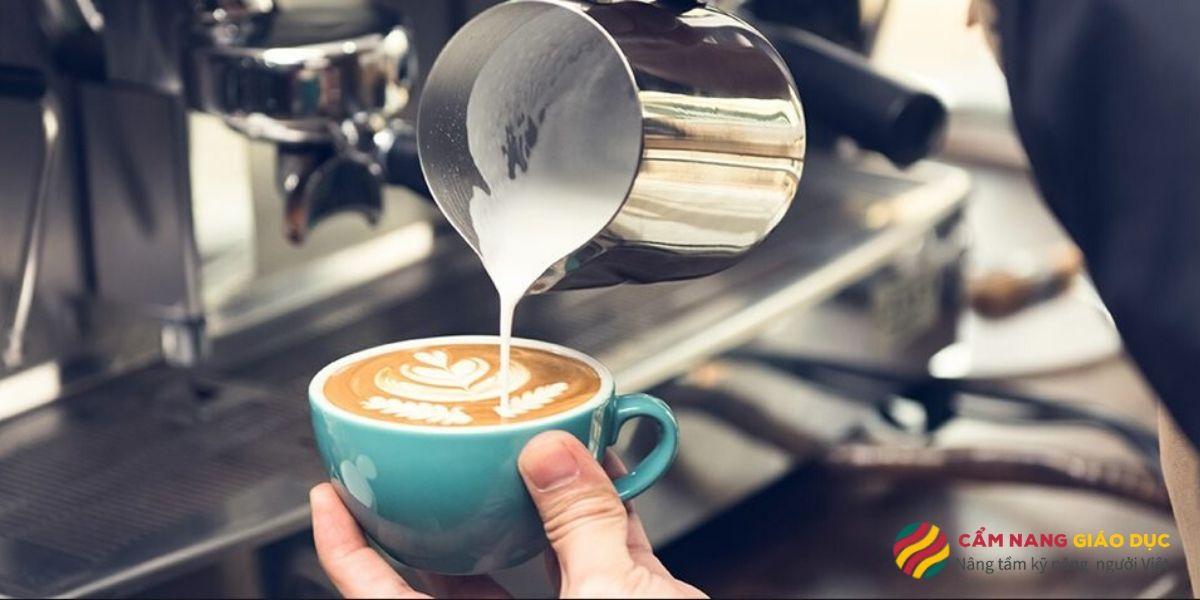 Barista - nghệ thuật trang trí những tách cà phê