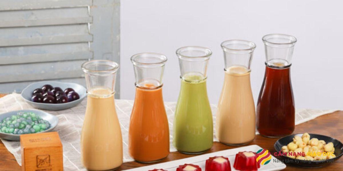 Hướng nghiệp Á Âu - Pha trà sữa truyền thống và hiện đại