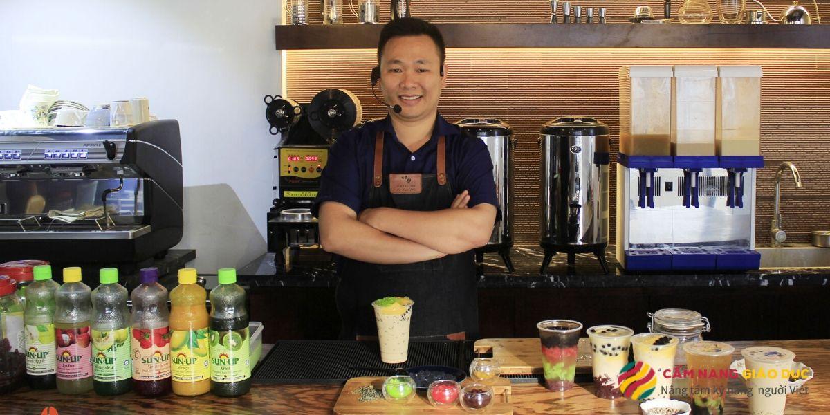 Chuyên pha chế trà sữa Đài Loan với khóa học pha chế trà sữa tại Vietblend