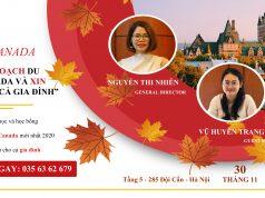 hội thảo du học canada edutrust 30/11/2019
