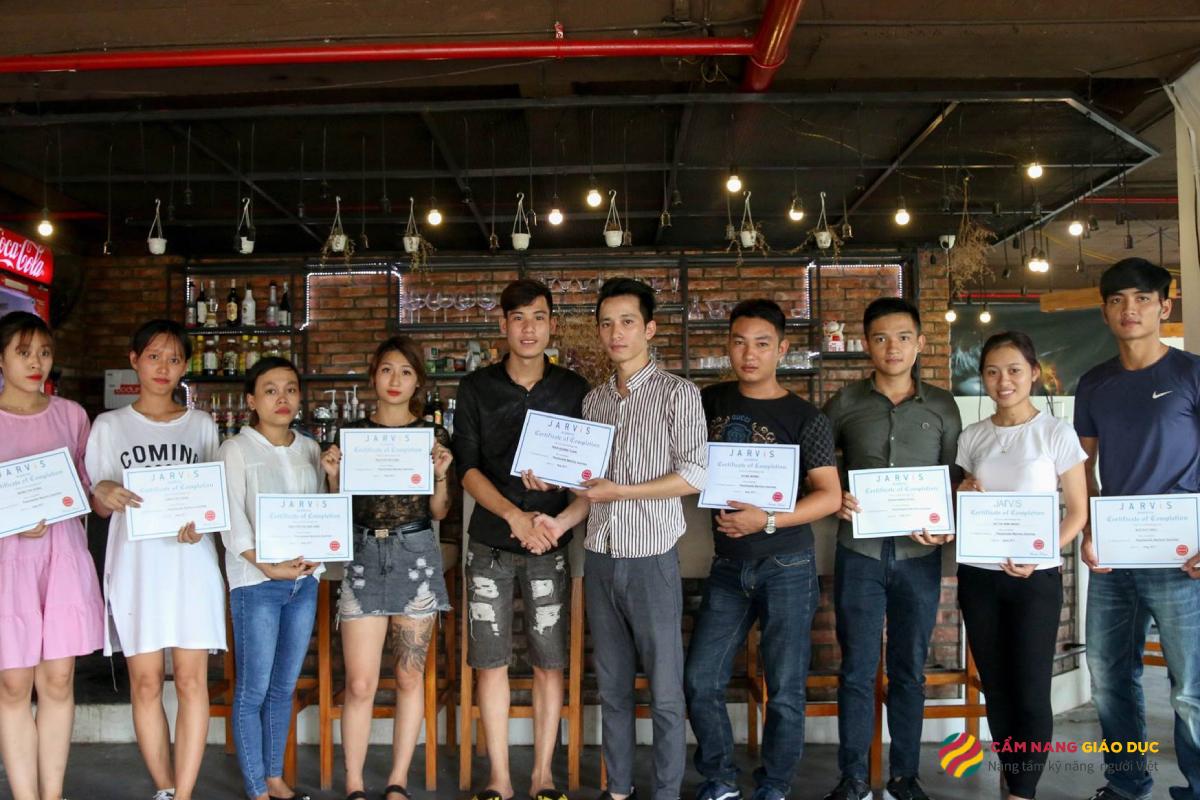 Khóa học barista 1: 1 tại Jarvis Hà Nội