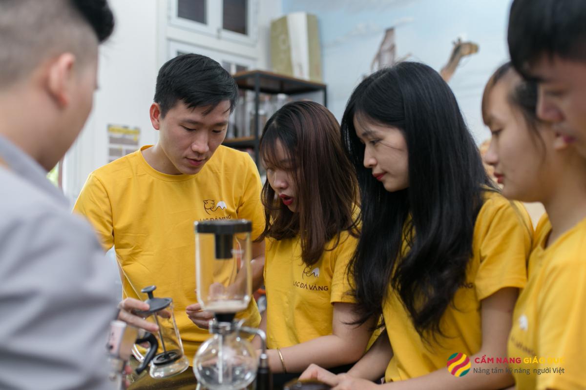 Khóa học barista tổng hợp tại Lạc Đà Vàng