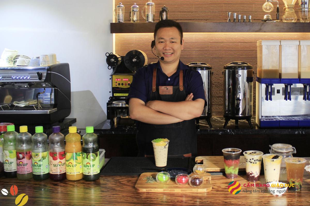 Khóa học pha chế đồ uống tổng hợp tại Vietblend Hà Nội