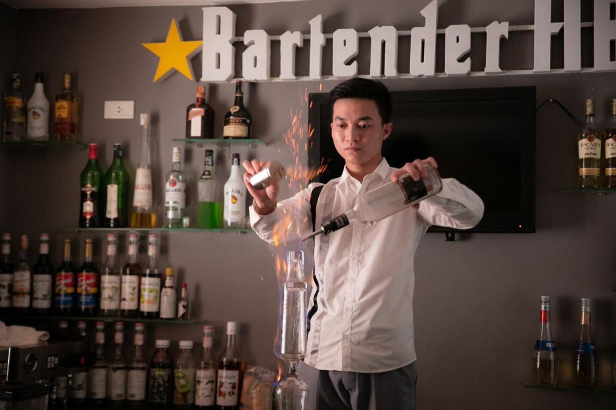 Trung Tâm Pha Chế Bartender HB - nơi học pha chế rượu tốt nhất tại Hà Nội