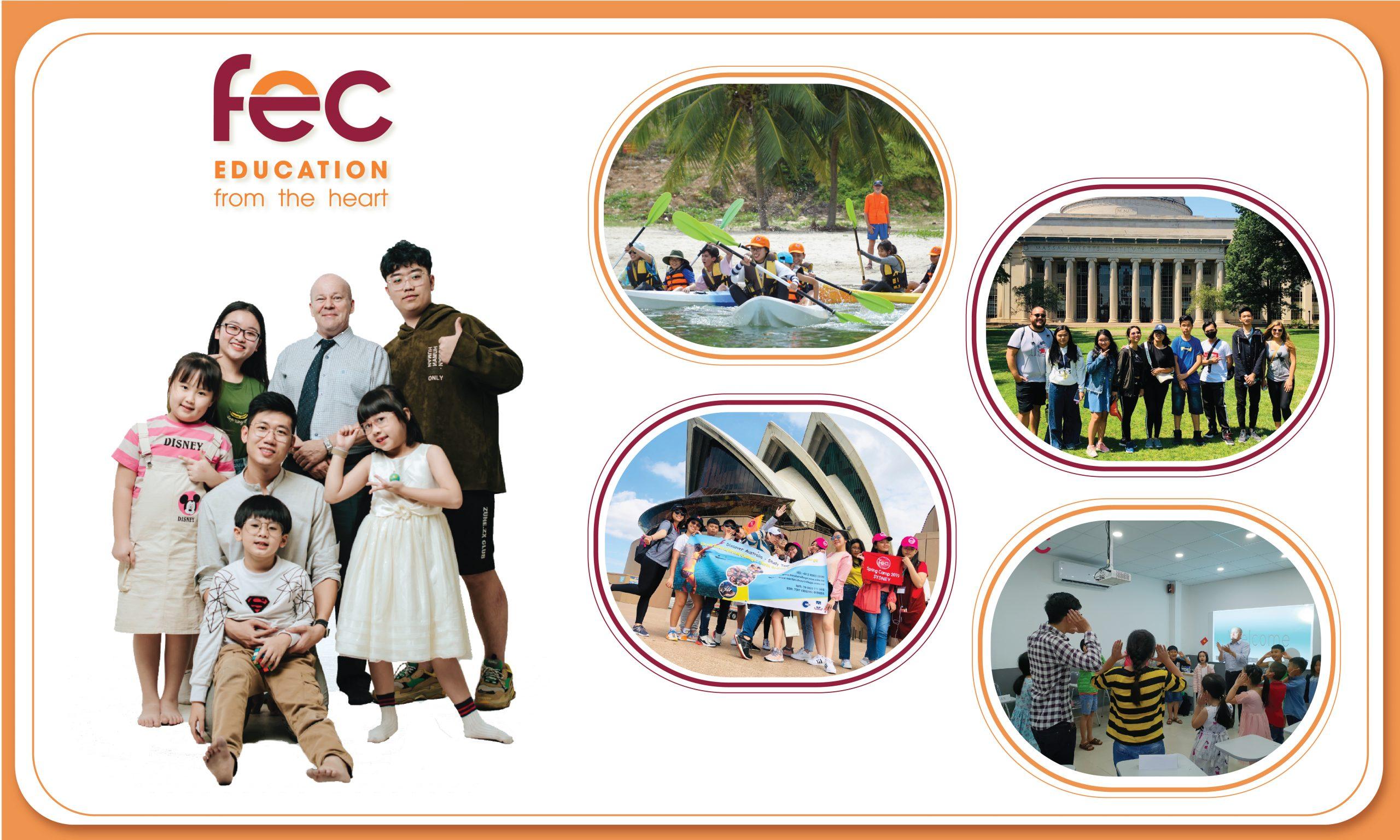 FEC là Trung tâm Anh ngữ uy tín, chất lượng cùng 100% giáo viên bản xứ