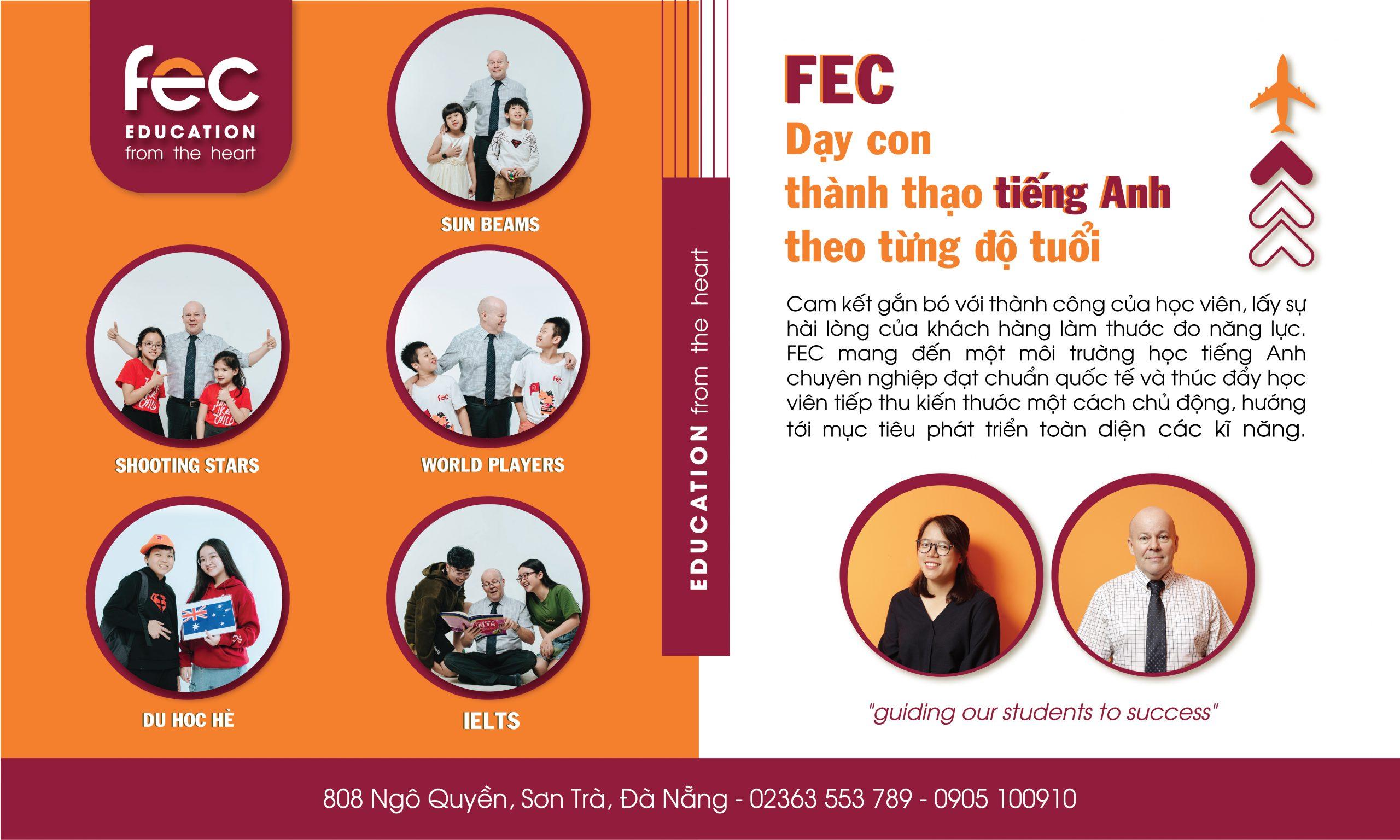 FEC luôn chú trọng chất lượng giảng dạy, luôn nỗ lực để tạo ra nhiều giá trị nhất cho học viên
