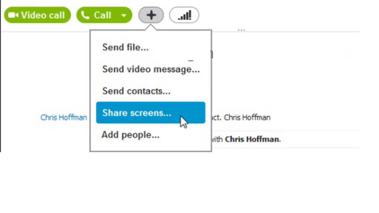 Chia sẻ màn hình của bạn