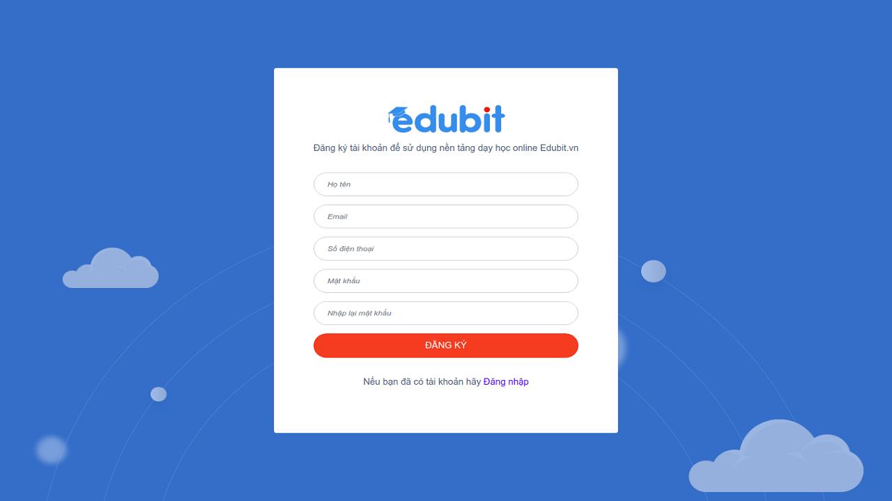 Edubit.vn - Hỗ trợ giảng dạy trực tuyến cực tốt